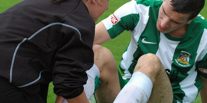 Sports injury how to speed the recovery process up